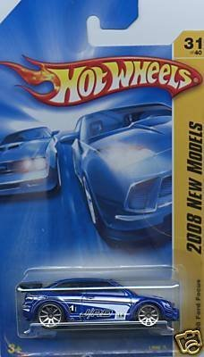 Hot Wheels 08' Ford Focus 2008 New Models 31/40 (Ford Focus Model compare prices)