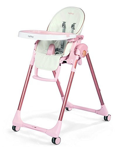 Peg Perego Prima Pappa Zero 3 High Chair, Mon Amour (Peg Perego Prima Pappa Best High Chair)
