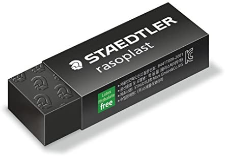 Staedtler 526 B20-9 Rasoplast Eraser - Black (Pack of 20)