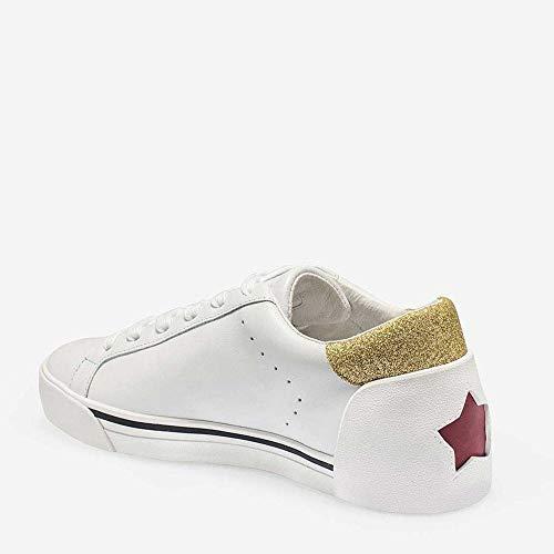 Glitter Trainers White Ash White Gold amp; Leather Next x4pqB