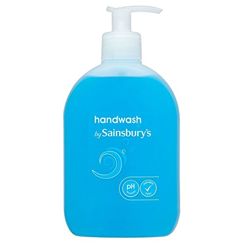 稚魚感謝祭流用するSainsbury's Handwash, Blue 500ml - (Sainsbury's) 手洗い、青500ミリリットル [並行輸入品]
