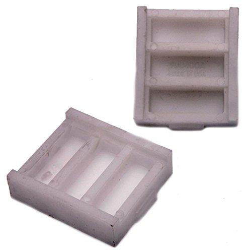 Rear Leaf Spring Insulator - ACDelco 45G15600 Professional Rear Leaf Spring Insulator