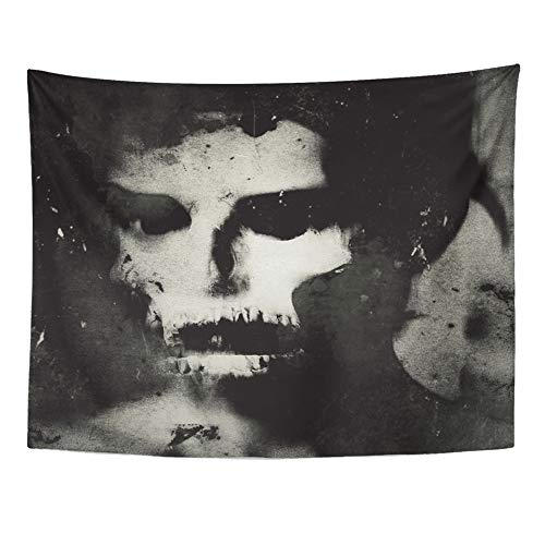 Emvency Tapestry Polyester Fabric Print Home Decor Face