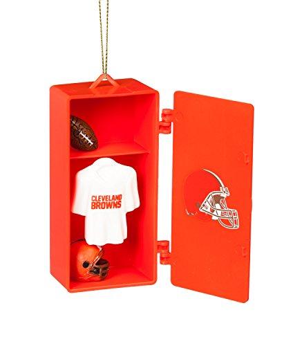 Room Nfl Browns Locker (Team Sports America Cleveland Browns Team Locker Ornament)