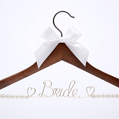 Bride Hanger, Wedding Dress Hanger, Wire hanger,