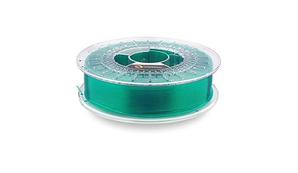 Fillamentum PLA Crystal Clear Smaragd Verde 1,75 mm 3D Impresora ...