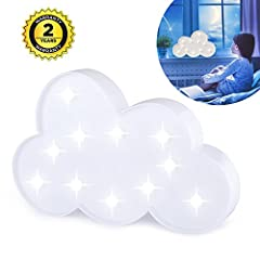 Light Up Your Room with cloud:Application:Indoor and outdoor(must in dry weather) use, home or holiday decoration.There is a hole behind lighted cloud sign, can be hung on the wall, also can be placed on the table or any corner of the family....