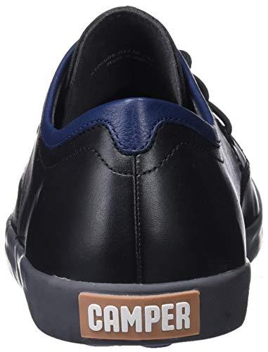 Scarpe Oxford Pursuit 001 Camper Uomo Stringate Nero Black qZvxw6HU