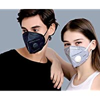 Xtore Protection Plus N95/ PM 2.5 Anti Pollution Mask   Military Grade Quality   Breathing Valve   Anti Dust - Prevents perticulate matter   Premium Quality - (1 pc)