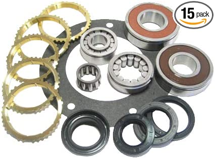 Vital Parts BK163JWS Fits AX15 Jeep /& Dodge Manual Transmission Rebuild Kit With Synchro Rings 85-00