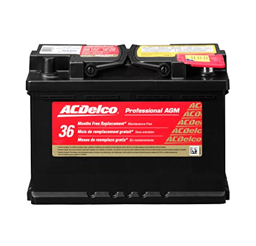2020 Lexus Sc400 Replacement - ACDelco 48AGM Professional AGM Automotive BCI Group 48 Battery