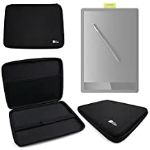 DURAGADGET Wacom Graphics Tablet Case - Exclusive Black Custom-Designed Hard Shell EVA Case for the Wacom Pro CTL671 Graphic Tablet / Intuos 'Art' Pen and Touch Graphics Tablet (CTH-690AK-S / CTH-690AB-S)
