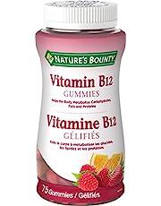 Nature's Bounty Vitamin B12 Supplement, Helps maintain good health, 75 Gummies