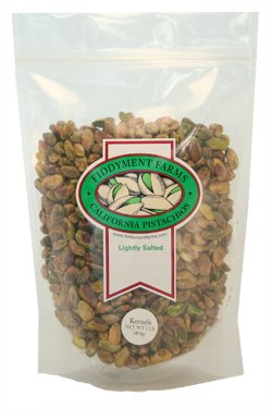Fiddyment Farms 1 Lb Lightly Salted Pistachio Kernels