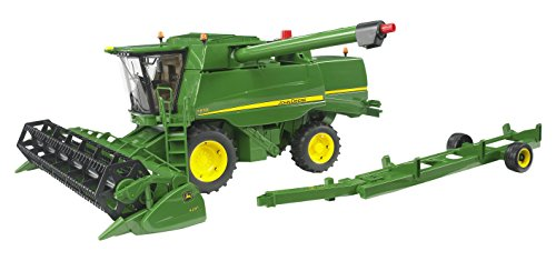 John Deere Combine T-670i with Grain Head 1:16 (John Deere Grain)