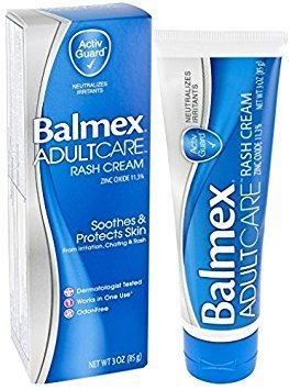 Balmex Adult Care - Balmex Adult Care Rash Cream, 3 oz Per Tube (2 Pack)