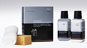 Original AUDI Spare Parts AUDI Leather Care Kit Amazoncouk Car - Audi car cleaning kit