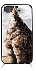 HeartCase Hard Case for Iphone 4 4G 4S (Giraffe ) by icecream design