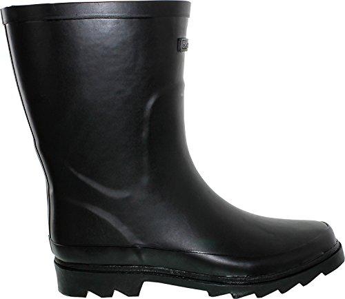 BEARPAW Womens Peggy Rubber Rain Boot Black OEHMrh3cw