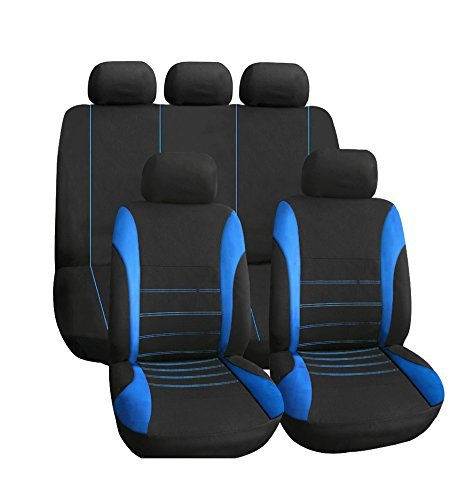 KKmoon Car Seat Covers Universal Full 9 Set; Car Seat Cover Auto Interior...