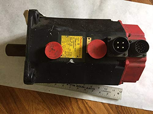USED FANUC A06B-0501-B004 AC SERVO MOTOR,FANUC 10, 144 V,3 PHASE,RPM 2000,BOXAV