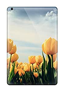 New Style New Yellow Tulips Tpu Cover Case For Ipad Mini 2
