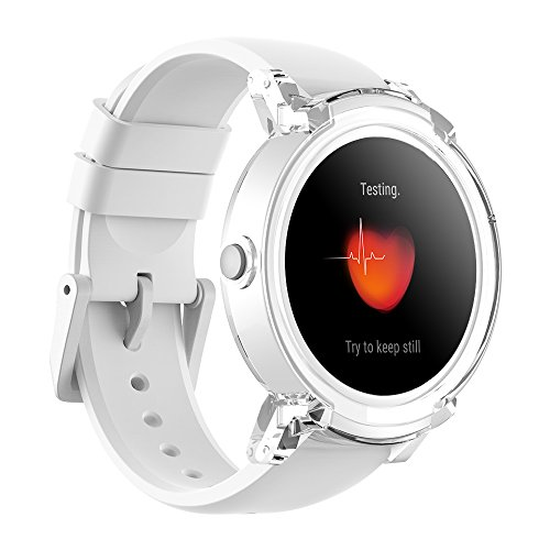 Ticwatch E Super Lightweight Smart Watch Ice,1.4 inch OLED Display, Android Wear...