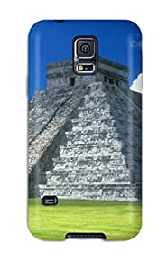 New Arrival Pyramid Of Mexico Case Cover/ S5 Galaxy Case