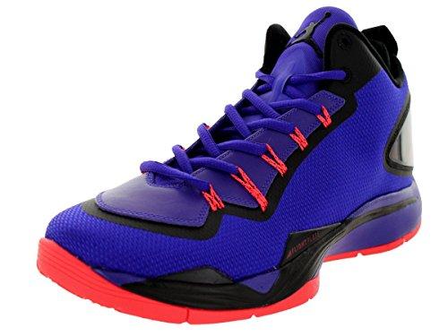 Nike Jordan Hommes Jordan Super.fly 2 Po Drk Cncrd / Drk Cncrd / Blck / Infrr Basket Chaussure 13 Hommes Nous