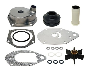 Car Kit Part Number - COMPLETE WATER PUMP KIT | GLM Part Number: 12124; Mercury Part Number: 46-812966A12