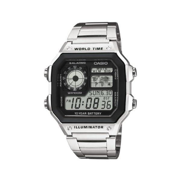 Casio Reloj de Pulsera AE-1200WHD-1AVEF 41401TlizXL