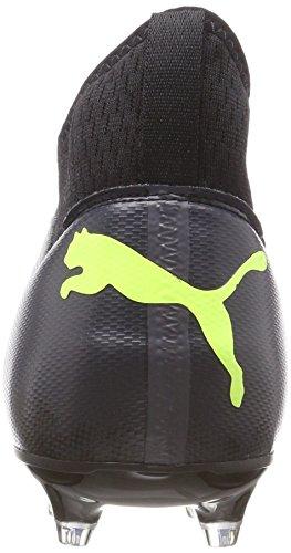 Scarpe Da Calcio Nere Puma Da Uomo 18.3 Fg / Ag Nere (puma Nero-fizzy Giallo-asfalto)