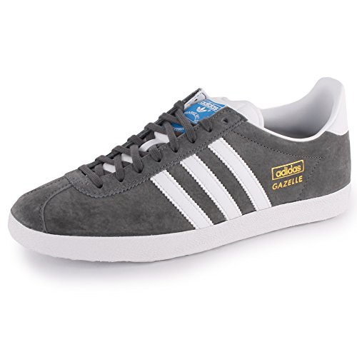 ajo extraterrestre salvar  adidas Gazelle Og Mens Suede Trainers Grey White 9.5 US- Buy Online in  Burundi at burundi.desertcart.com. ProductId : 15900303.