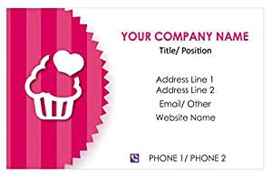 amazon com design your own personalized business card cake bakery