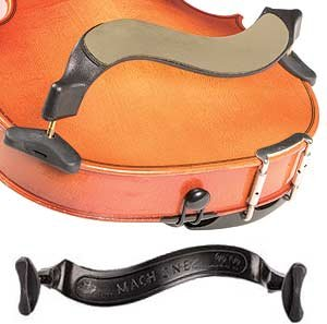 Mach One 3//4-4//4 Violin Shoulder Rest with Leather Comfort Strap