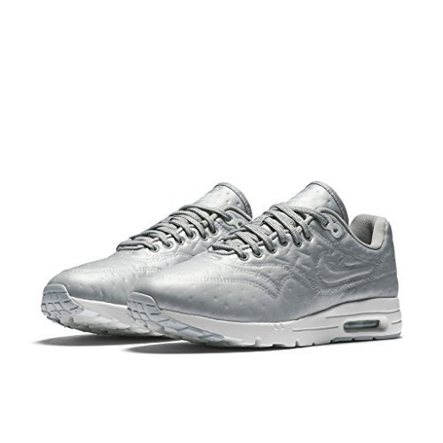 Nike Air Max 1 Ultra PRM JCRD Womens Running Trainers 861656 Sneakers Shoes (UK 4 US 6.5 EU 37.5, Metallic Silver 002)