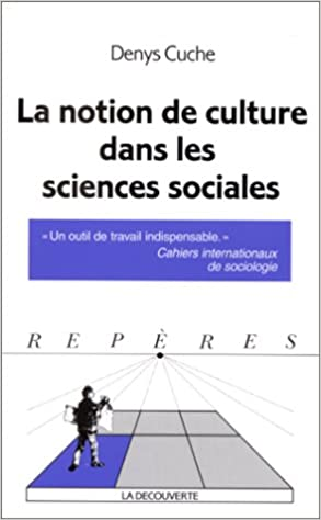 Livres gratuits La notion de culture dans les sciences sociales pdf