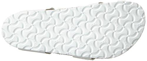 Birkenstock Yara Birko-Flor, Chanclas para Mujer Blanco (Vernis Blanc)