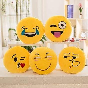 Amazon.com: ILUTOY 11.8 in suave Emoji Smiley Emoticon ...