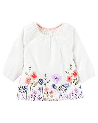 da7ddfc2e127 Amazon.com  OshKosh B gosh Baby Girls  Floral Boho Top  Clothing