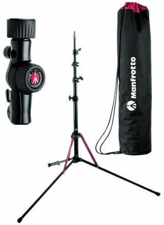Manfrotto Licht Stativ Blitzschuh Set Kamera