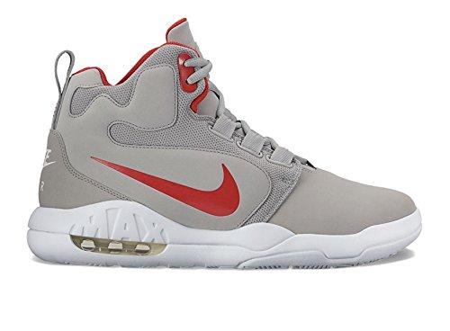 Nike Mens Air Conversion Basketball Shoe Grey/Red jrOBkbd
