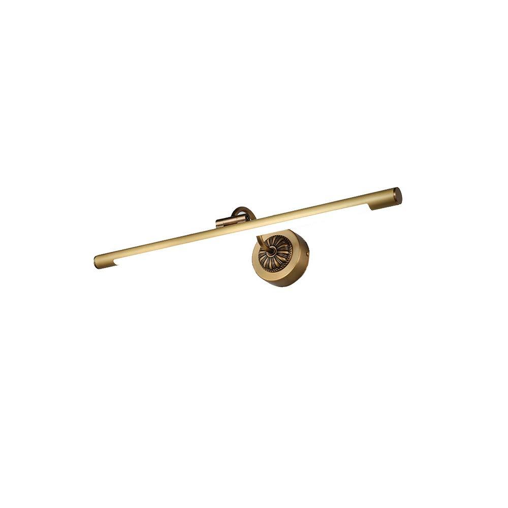 Größe Brass, (Farbe 220V Spiegelscheinwerfer Badbeleuchtung ...