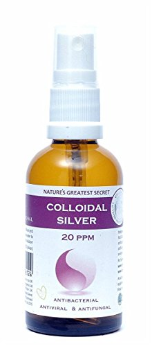 Natures Greatest Secret 20 ppm Colloidal Silver (Spray) 50ml(Pack of 6)