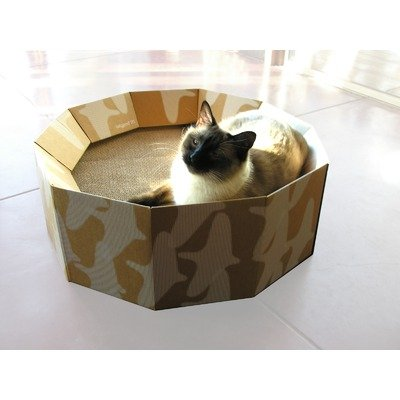 Iti- Birdy Migration Cat Bed Color: White, My Pet Supplies