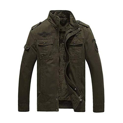 Jacket Capuche Épaissie À Parka Cordon Grün Style poches Manteau Avec Armee Simple 5 Multi Ea4qCzdwnx