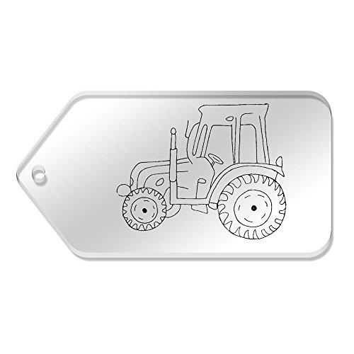 'trattore' Azeeda Large 99 mm da Etichette 10 tg00075092 trasparenti X 51 Pgcrc8