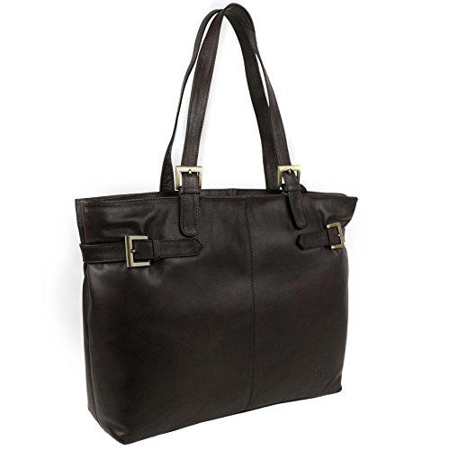 Gigi Brown Leather Bag - 2