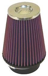 K&N RC-4680 High Performance Universal Clamp-on Chrome Air Filter