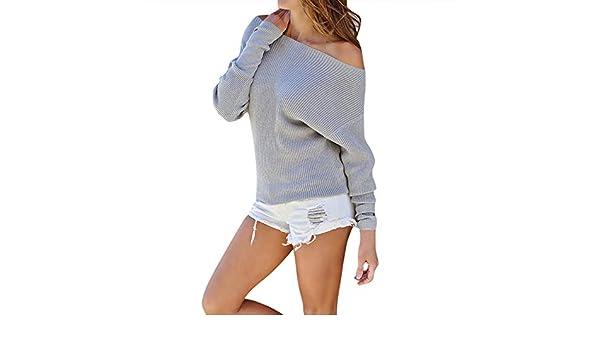 Mujer Levifun Blusa de Mujer Camuflaje Manga Larga Blusa con Hombros Descubiertos Top Camiseta Manera De Mujer Elegante Blusa Tops Camisetas Camisas de Fiesta: Amazon.es: Ropa y accesorios
